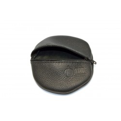 Porte-monnaie cuir noir