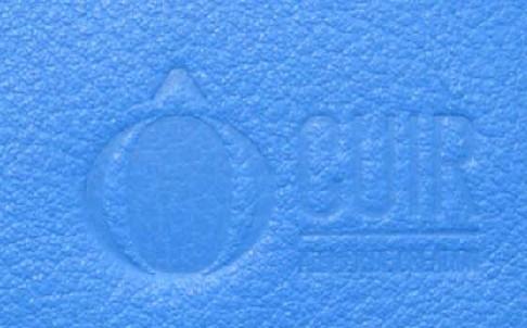 Bleu clair (cuir lisse)